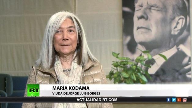 2014-09-23 - Entrevista con María Kodama, viuda de Jorge Luis Borges