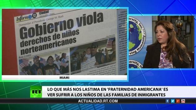 2014-10-06 - Entrevista con Nora Sandigo, activista de EE.UU., fundadora de 'Fraternidad Americana'