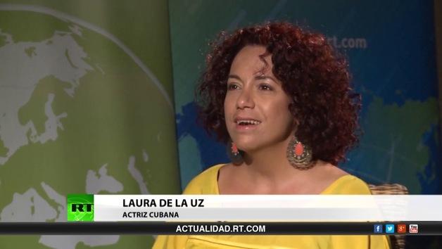 2014-10-21 - Entrevista con Laura de la Uz, actriz cubana
