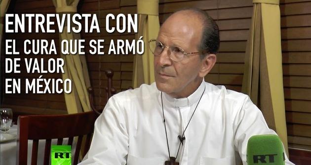 2014-10-29 - Entrevista con Alejandro Solalinde, cura y activista mexicano