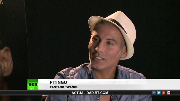 2014-11-04 - Entrevista con Pitingo, cantaor español