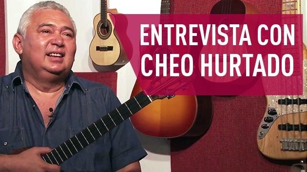 2014-11-08 - Entrevista con Cheo Hurtado, músico venezolano