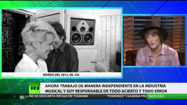 2014-11-15 - Entrevista con Vega, cantautora española