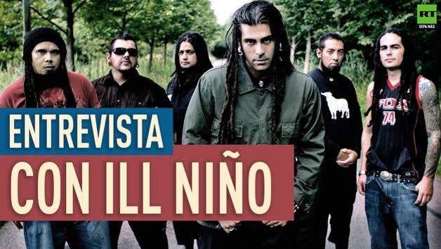 2014-11-20 - Entrevista con Ill Niño, conjunto de música estadounidense