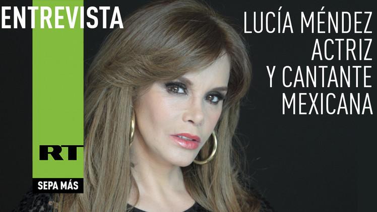 2014-12-09 - Entrevista con Lucía Méndez, actriz y cantante mexicana
