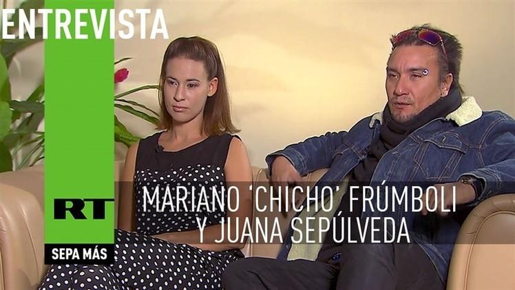 2015-01-17 - Entrevista con Mariano 'Chicho' Frúmboli y Juana Sepúlveda, tangueros argentinos