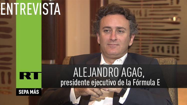 2015-02-09 - Entrevista con Alejandro Agag, empresario español y presidente ejecutivo de la Fórmula E