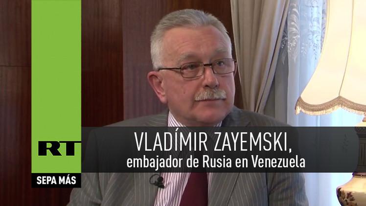2015-02-10 - Entrevista con Vladímir Zayemski, embajador de Rusia en Venezuela