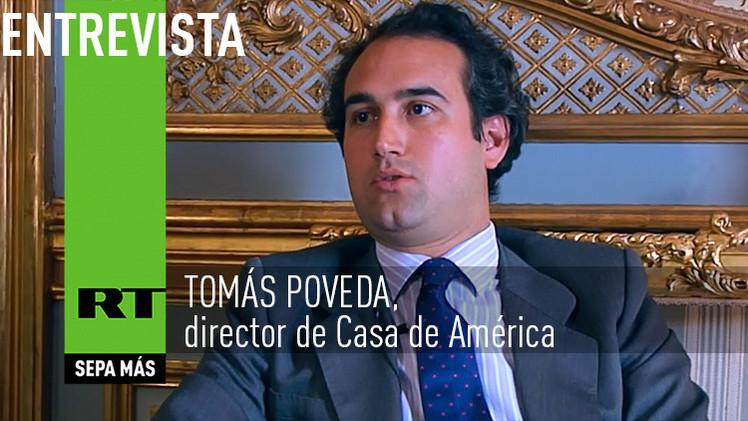 2015-02-24 - Entrevista con Tomás Poveda, director de Casa de América