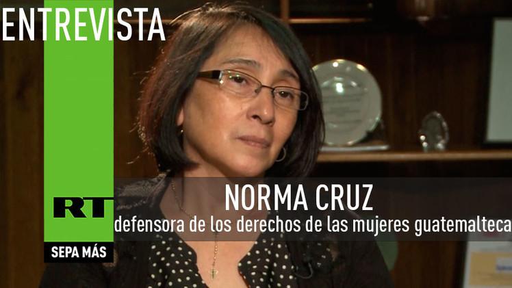 2015-03-11 - Entrevista con Norma Cruz, defensora de los derechos de las mujeres guatemalteca