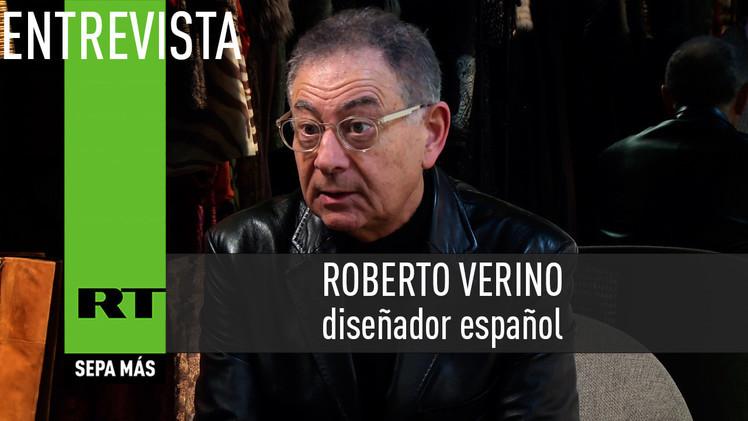2015-03-12 - Entrevista con Roberto Verino, diseñador español