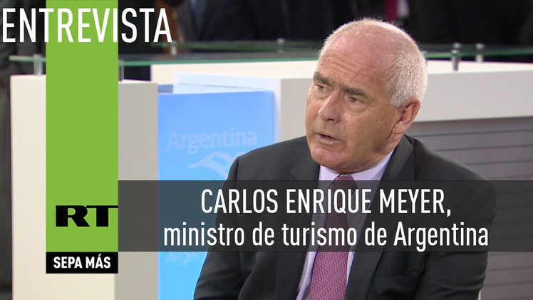 2015-03-23 - Entrevista con Carlos Enrique Meyer, ministro de turismo de Argentina