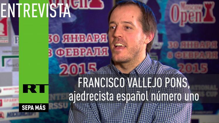 2015-03-24 - Entrevista con Francisco Vallejo Pons, ajedrecista español número uno