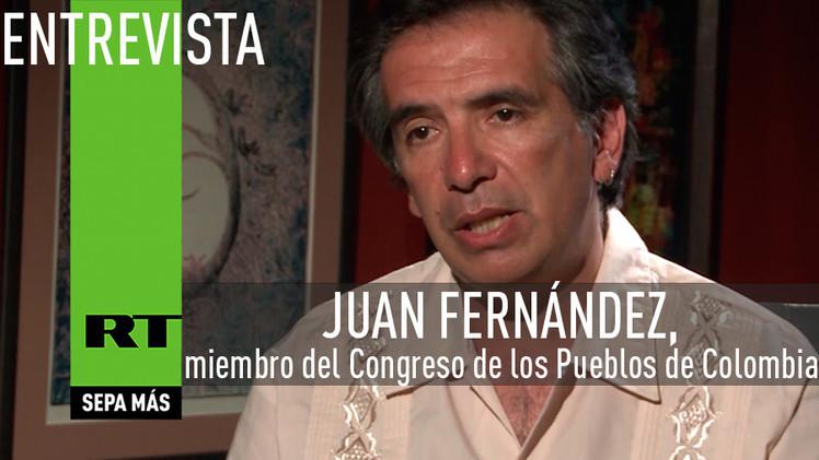 2015-03-25 - Entrevista con Juan Fernández, miembro del Congreso de los Pueblos de Colombia