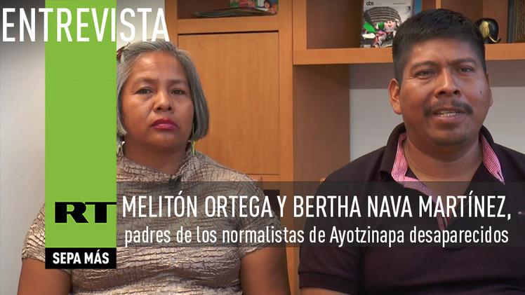 2015-03-26 - Entrevista con dos de los padres de los normalistas de Ayotzinapa desaparecidos
