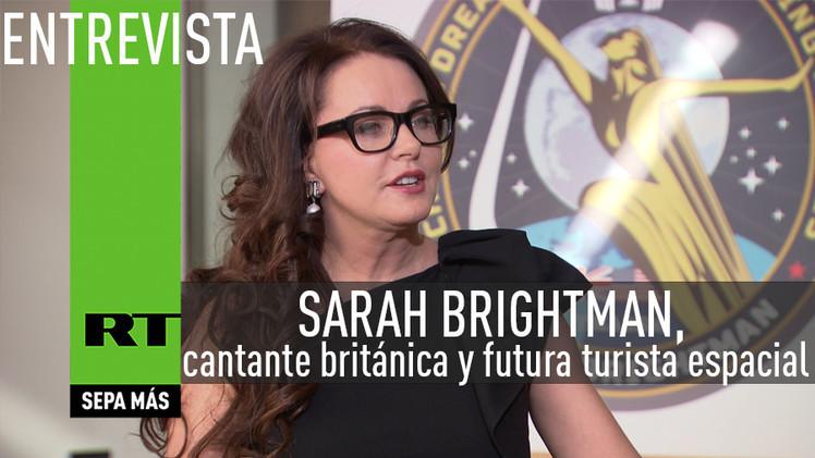 2015-04-01 - Entrevista con Sarah Brightman, cantante británica y futura turista espacial
