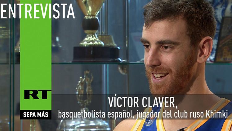 2015-04-06 - Entrevista con Víctor Claver, basquetbolista español, jugador del club ruso Khimki