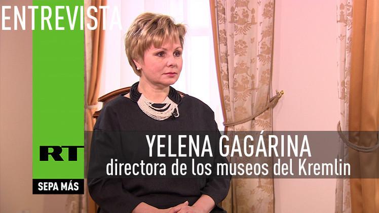 2015-04-13 - Entrevista con Yelena Gagárina, directora de los museos del Kremlin