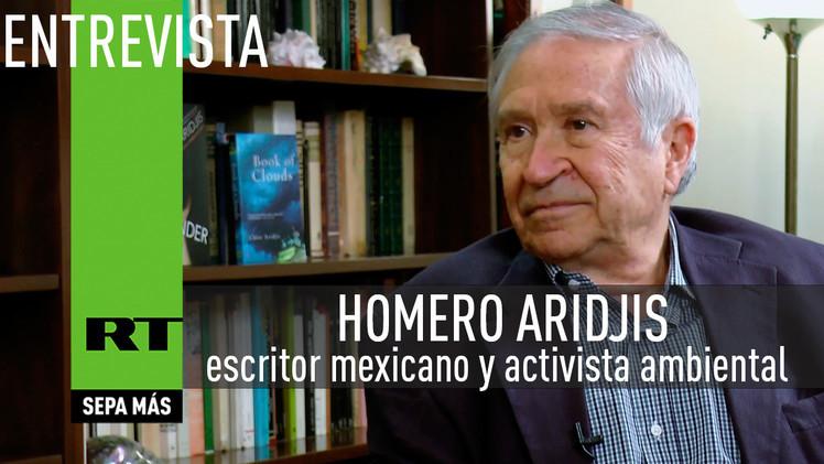 2015-04-15 - Entrevista con Homero Aridjis, escritor mexicano y activista ambiental