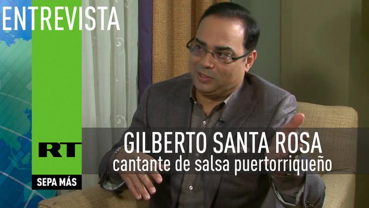 2015-04-16 - Entrevista con Gilberto Santa Rosa, cantante de salsa puertorriqueño