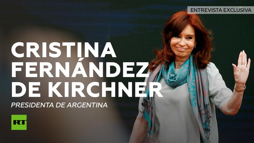 2015-04-23 - Cristina Fernández concede a RT su histórica primera entrevista sobre asuntos globales en años
