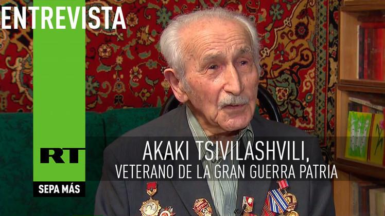 2015-05-04 - Entrevista con Akaki Tsivilashvili, veterano de la Gran Guerra Patria