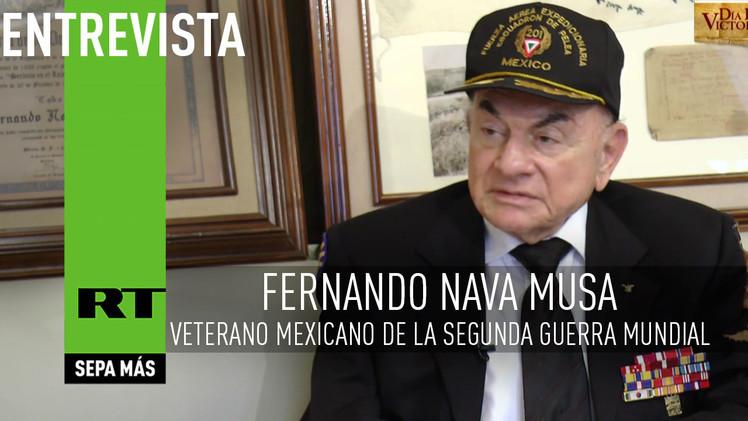 2015-05-06 - Entrevista con Fernando Nava Musa, veterano mexicano de la Segunda Guerra Mundial