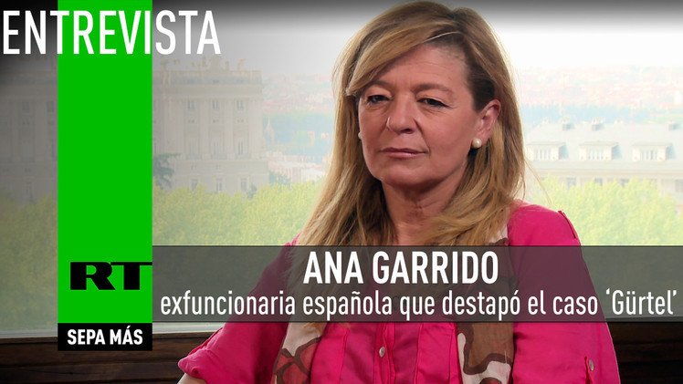 2015-05-12 - Ana Garrido, exfuncionaria española que destapó la trama 'Gürtel', revela detalles del caso a RT