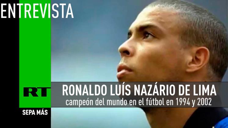2015-05-20 - Entrevista con Ronaldo, campeón del mundo en el fútbol en 1994 y 2002