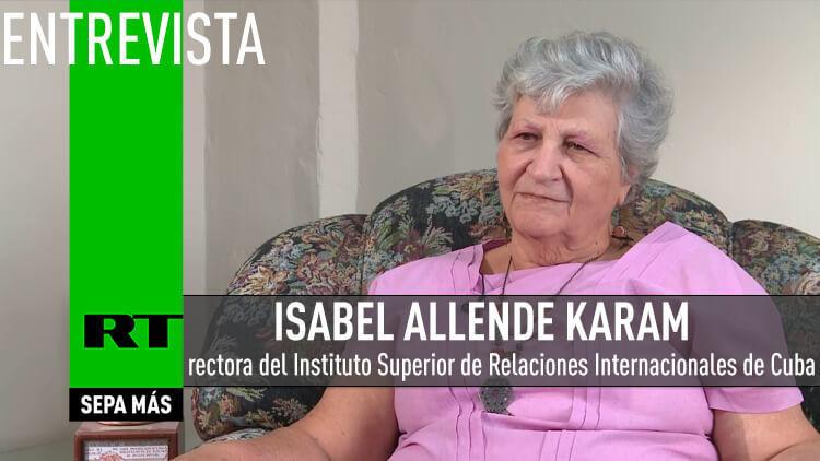 2015-07-01 - Isabel Allende Karam, rectora del Instituto Superior de Relaciones Internacionales de Cuba