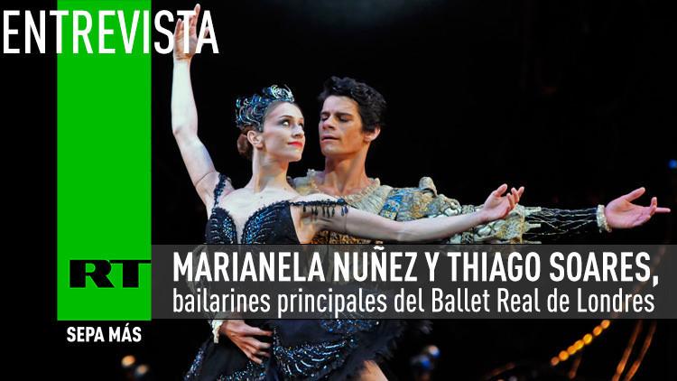 2015-07-02 - Entrevista con Marianela Nuñez y Thiago Soares, bailarines principales del Ballet Real de Londres