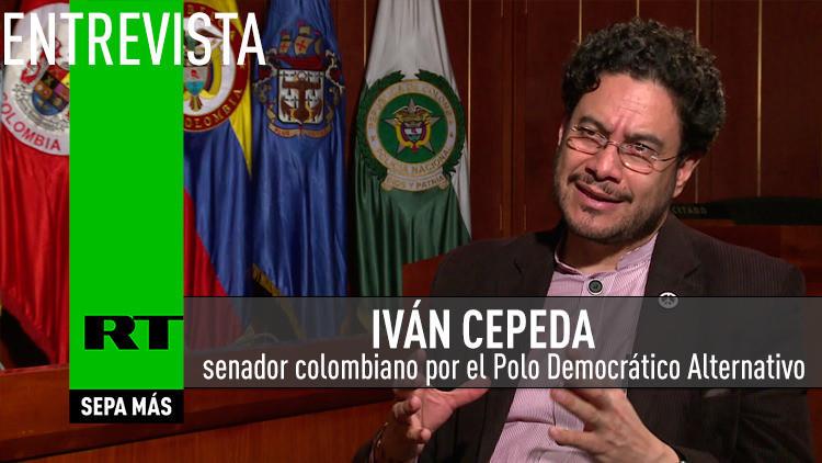2015-07-07 - Entrevista con Iván Cepeda, senador colombiano por el Polo Democrático Alternativo