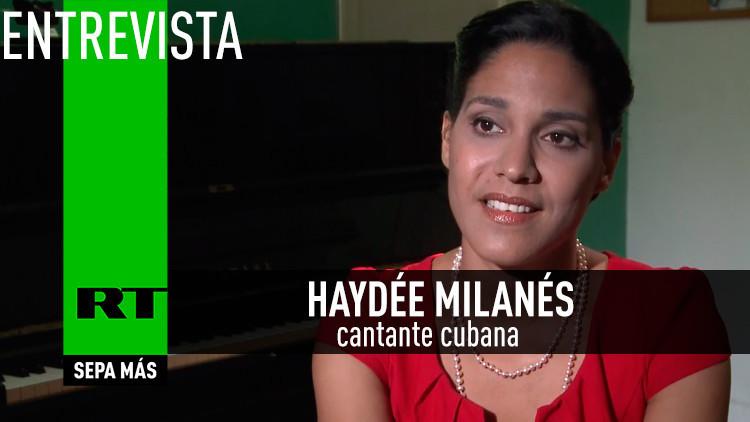 2015-07-23 - Entrevista con Haydée Milanés, cantante cubana