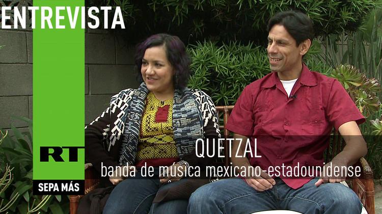 2015-07-30 - Entrevista con Quetzal, banda de música mexicano-estadounidense