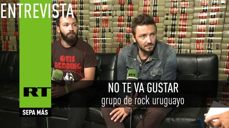 2015-08-06 - Entrevista con No Te Va Gustar, grupo de rock uruguayo