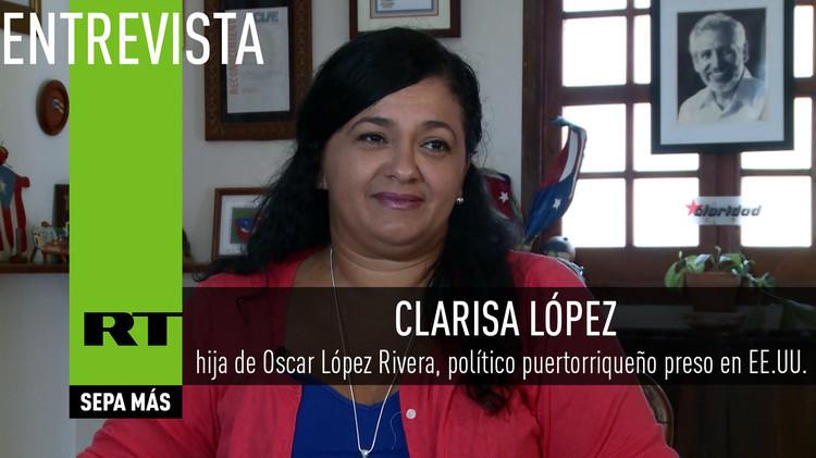 2015-08-31 - Entrevista con Clarisa López, hija de Oscar López Rivera, político puertorriqueño preso en EE.UU.