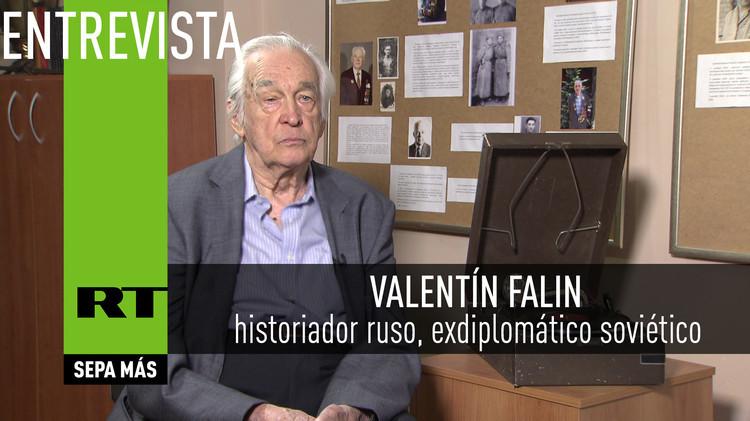 2015-09-02 - Entrevista con Valentín Falin, historiador ruso, exdiplomático soviético