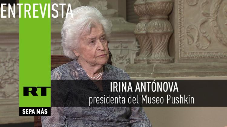 2015-09-10 - Entrevista con Irina Antónova, presidenta del Museo Pushkin