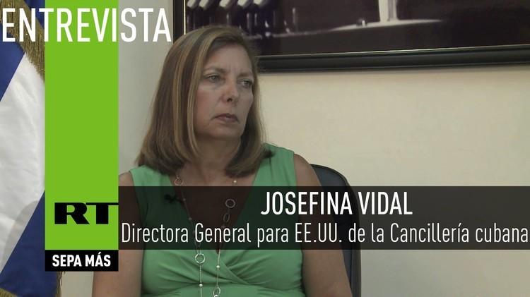 2015-09-21 - Entrevista con Josefina Vidal, Directora General para EE. UU. de la Cancillería cubana