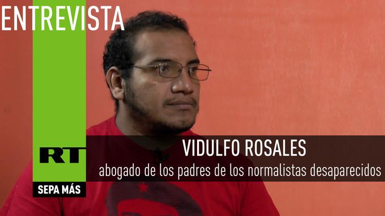 2015-09-23 - Entrevista con Vidulfo Rosales, abogado de los padres de los normalistas desaparecidos