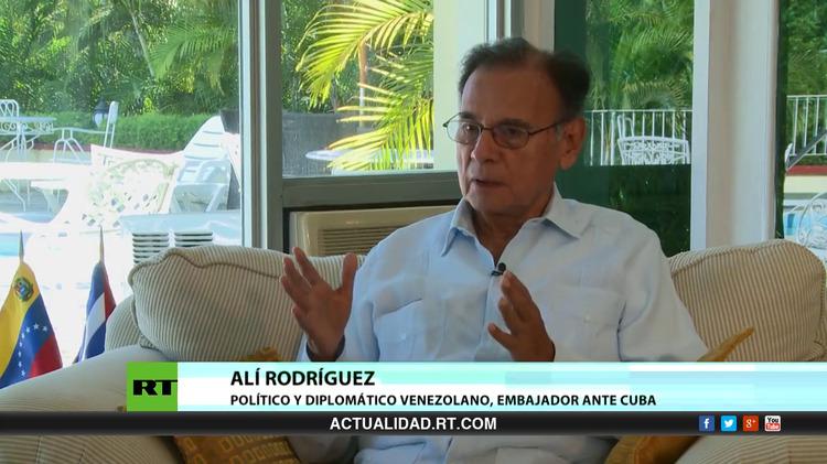 2015-09-28 - Entrevista con Alí Rodríguez, político y diplomático venezolano