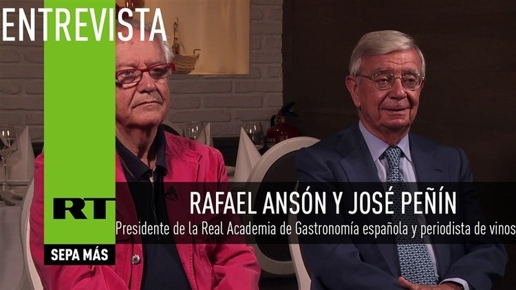 2015-10-01 - Entrevista con Rafael Ansón y José Peñín, expertos españoles en gastronomía y vinos