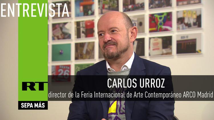 2015-10-15 - Entrevista con Carlos Urroz,  director de la Feria Internacional de Arte Contemporáneo ARCO Madrid