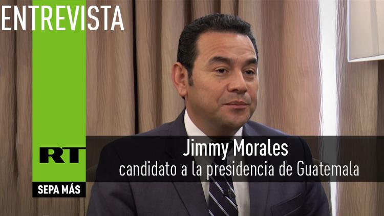 2015-10-25 - Entrevista con Jimmy Morales, candidato a la presidencia de Guatemala