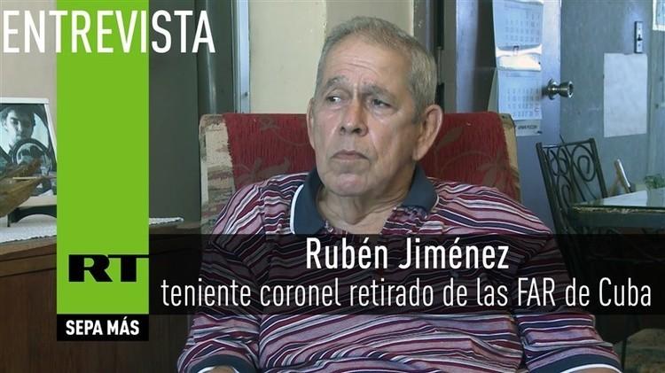 2015-10-27 - Entrevista con Rubén Jiménez, teniente coronel retirado de las FAR de Cuba