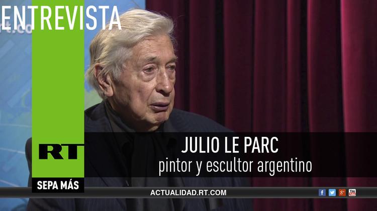 2015-11-07 - Entrevista con Julio Le Parc, pintor y escultor argentino