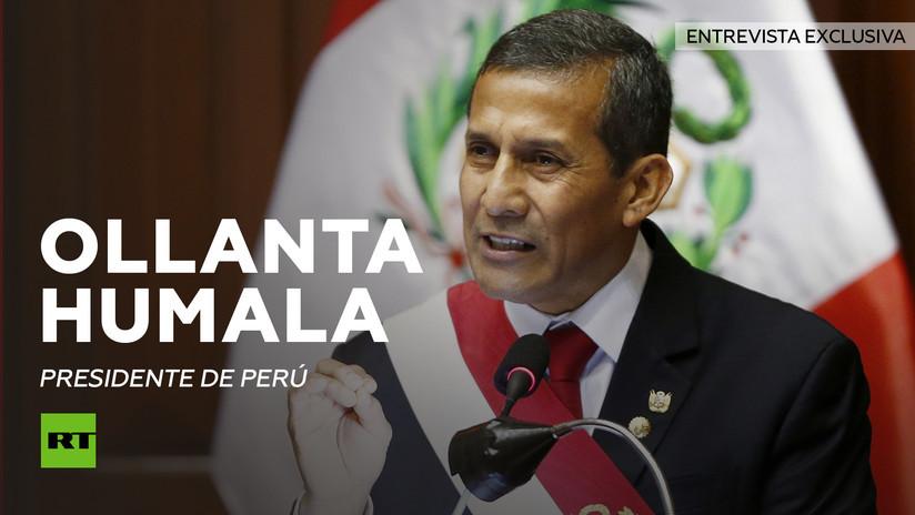 2015-11-30 - Entrevista en exclusiva de RT a Ollanta Humala, presidente de Perú