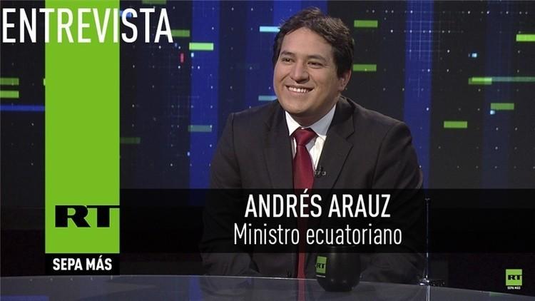 2015-12-07 - Entrevista con Andrés Arauz, Ministro Coordinador de Conocimiento y Talento Humano de Ecuador