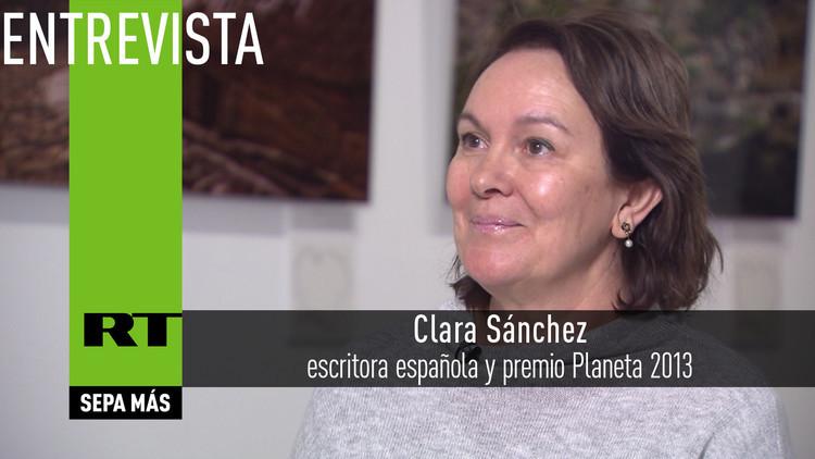 2016-01-05 - Entrevista con Clara Sánchez, escritora española y premio Planeta 2013