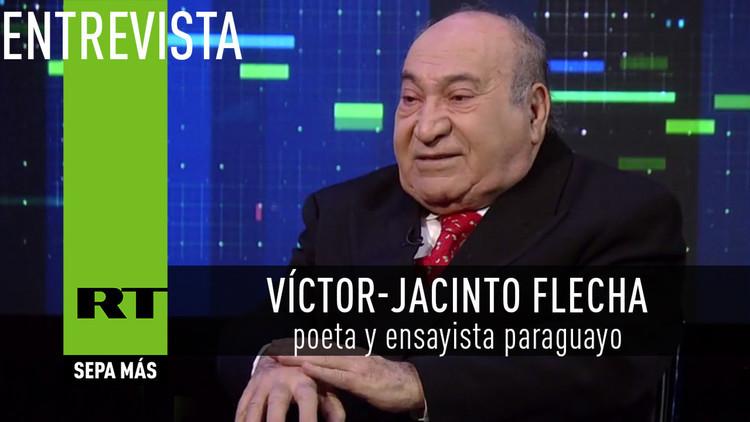 2016-01-23 - Entrevista con Víctor-Jacinto Flecha, poeta y ensayista paraguayo